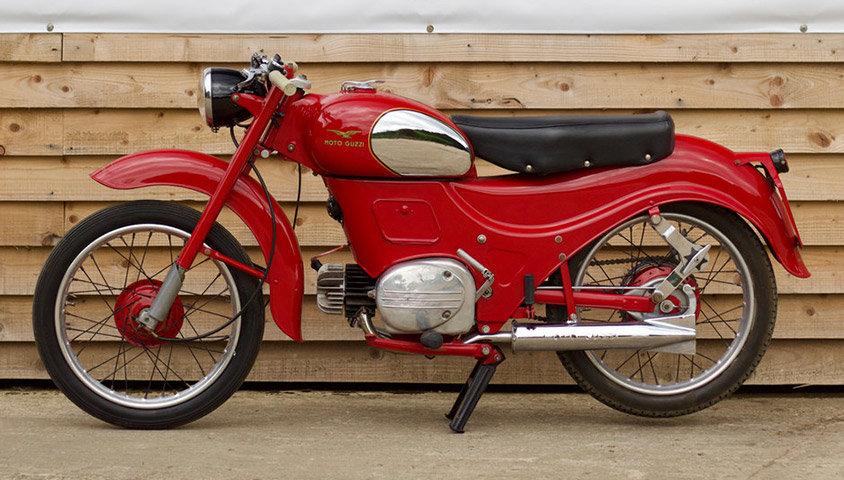 1957 Moto Guzzi Zigolo 98cc For Sale (picture 2 of 6)