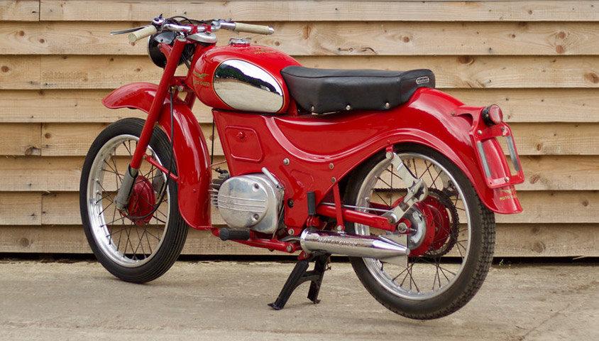 1957 Moto Guzzi Zigolo 98cc For Sale (picture 3 of 6)