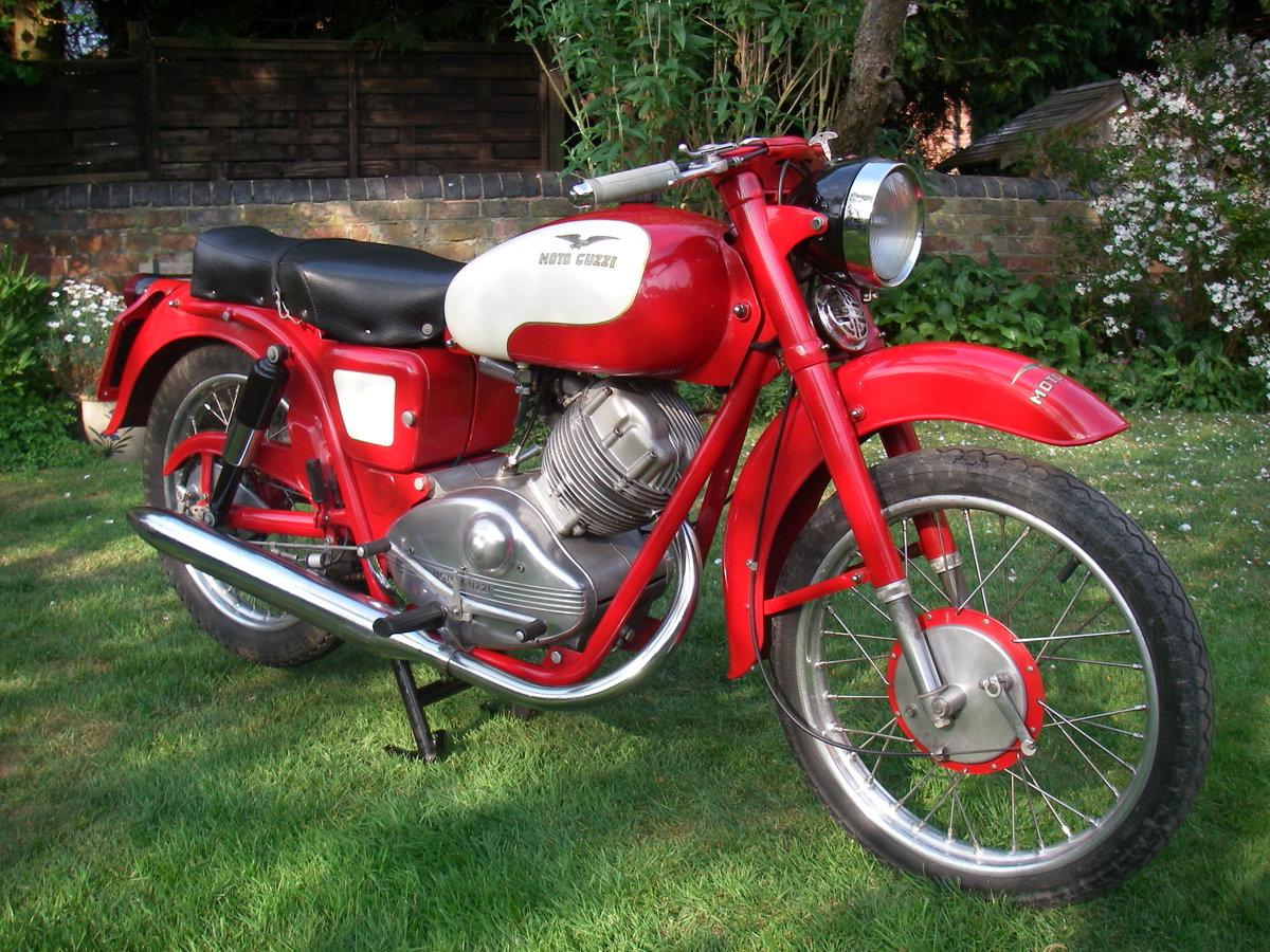 1957 Moto Guzzi Lodola 175cc OHC  SOLD (picture 1 of 6)