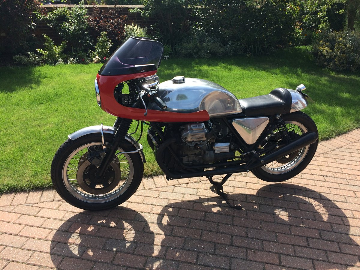 1978 Moto Guzzi 1000cc S reg Cafe Racer. Possible p/ex. For Sale (picture 1 of 5)