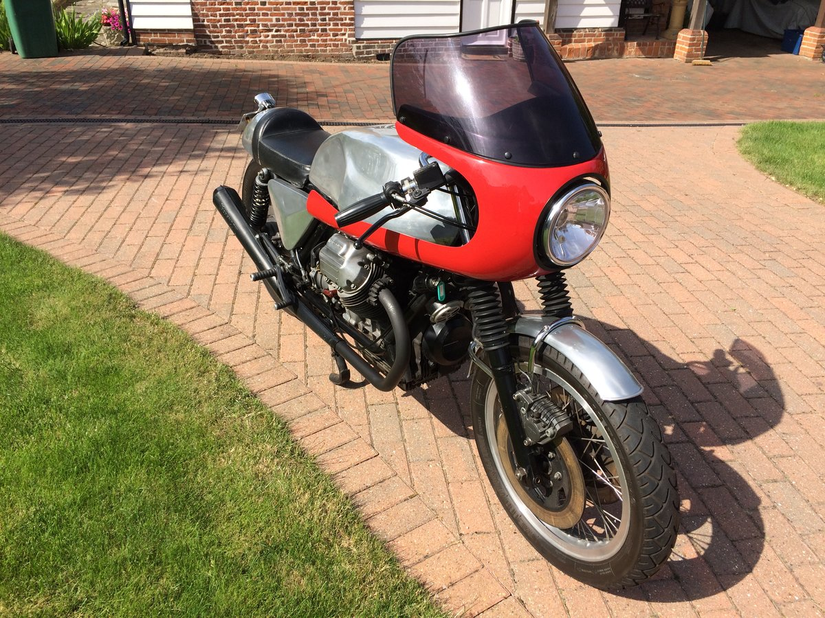 1978 Moto Guzzi 1000cc S reg Cafe Racer. Possible p/ex. For Sale (picture 2 of 5)