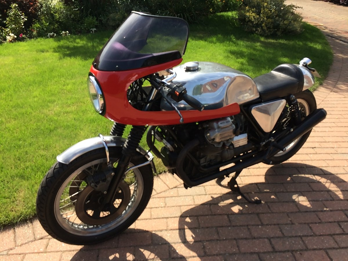 1978 Moto Guzzi 1000cc S reg Cafe Racer. Possible p/ex. For Sale (picture 4 of 5)