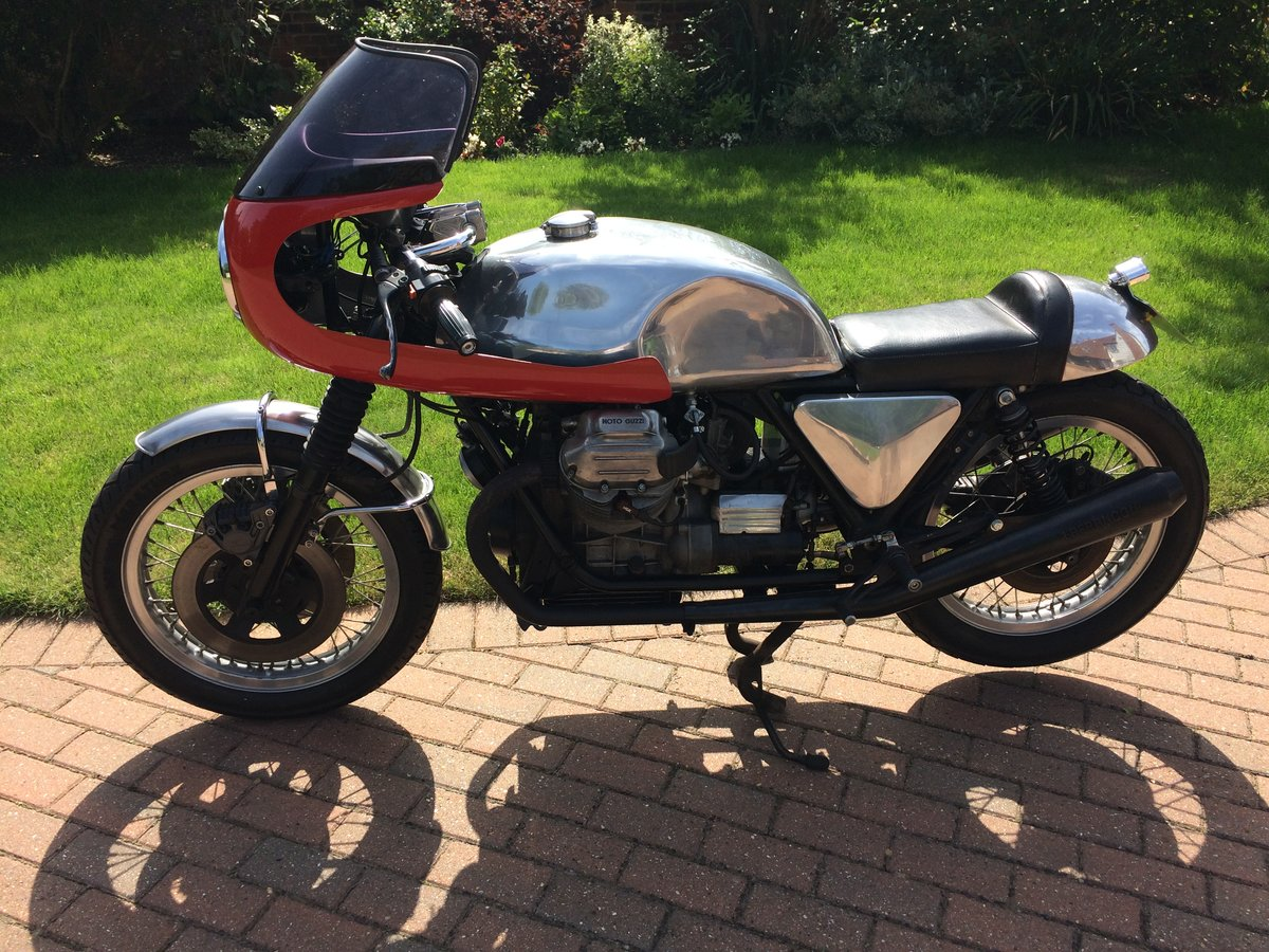 1978 Moto Guzzi 1000cc S reg Cafe Racer. Possible p/ex. For Sale (picture 5 of 5)