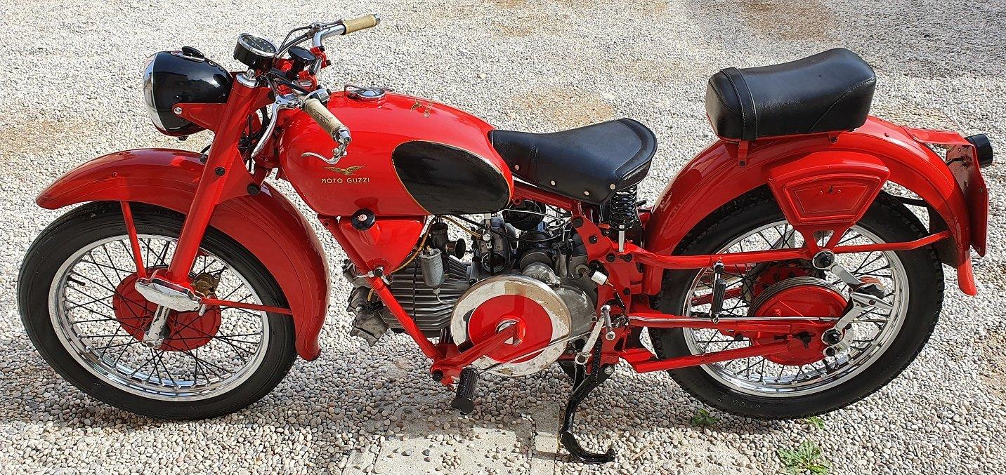 1953 GUZZI FALCONE TURISMO CIVILE For Sale (picture 1 of 6)