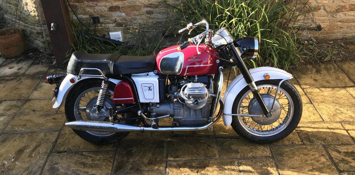 1969 Moto Guzzi V750 Ambassador Rare For Sale (picture 5 of 6)