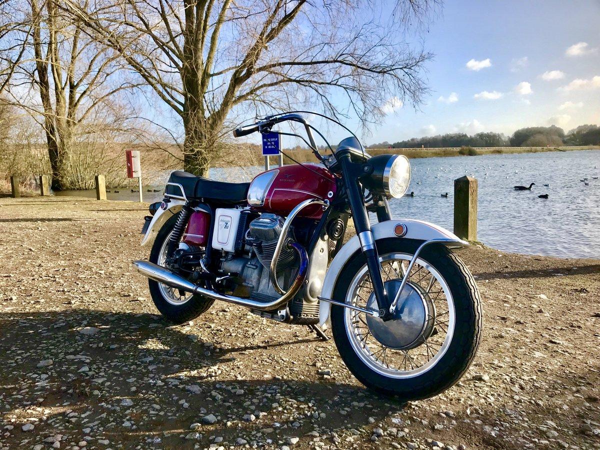 1969 Moto Guzzi V750 Ambassador Rare For Sale (picture 6 of 6)