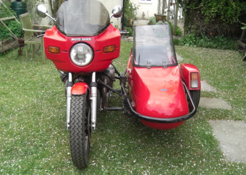 1980 Moto Guzzi Spada with Squire Sidecar For Sale (picture 2 of 4)