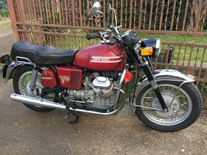 1972 moto guzzi v7 850 gt