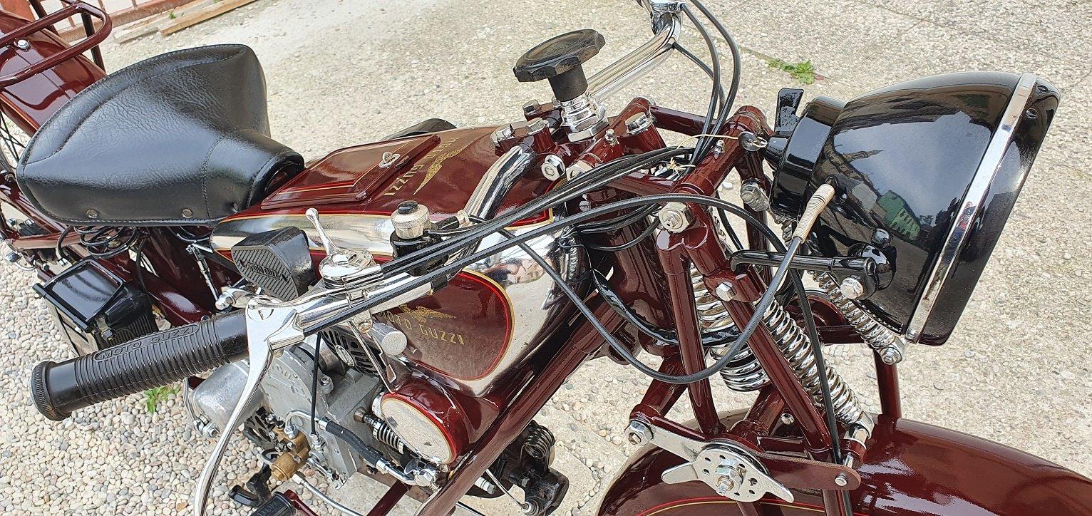 1932 MOTO GUZZI SPORT 15 For Sale (picture 5 of 6)