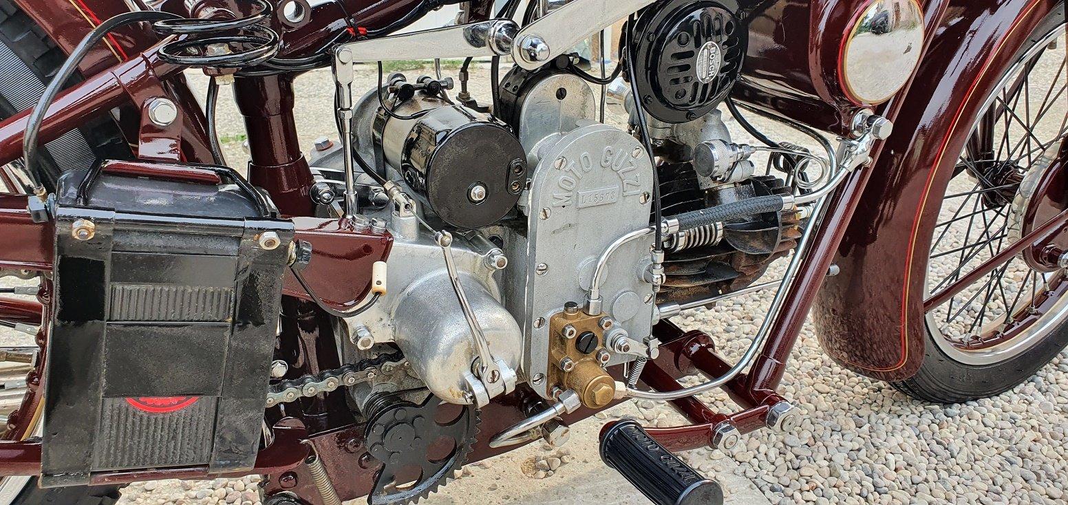 1932 MOTO GUZZI SPORT 15 For Sale (picture 6 of 6)