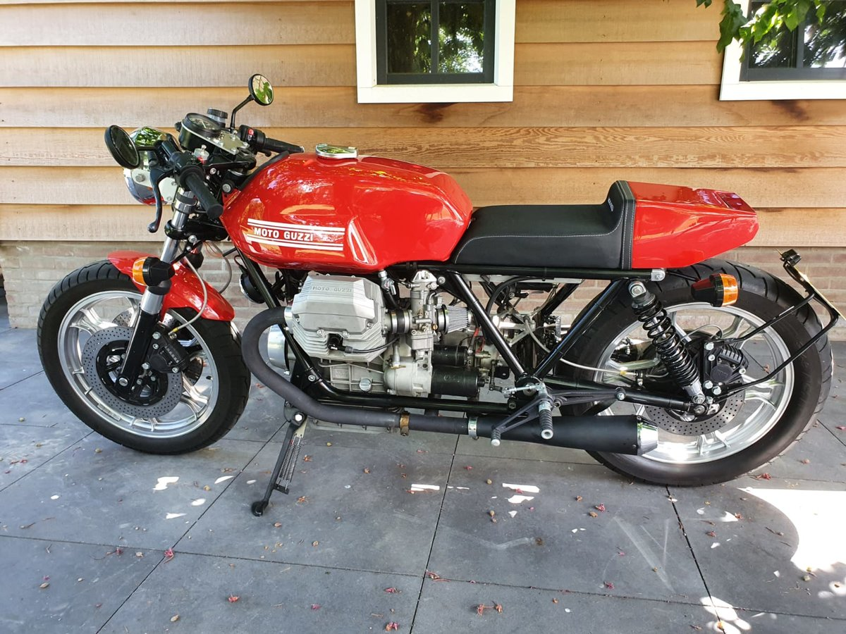 1985 Moto Guzzi Le Mans Cafe Racer For Sale Car And Classic