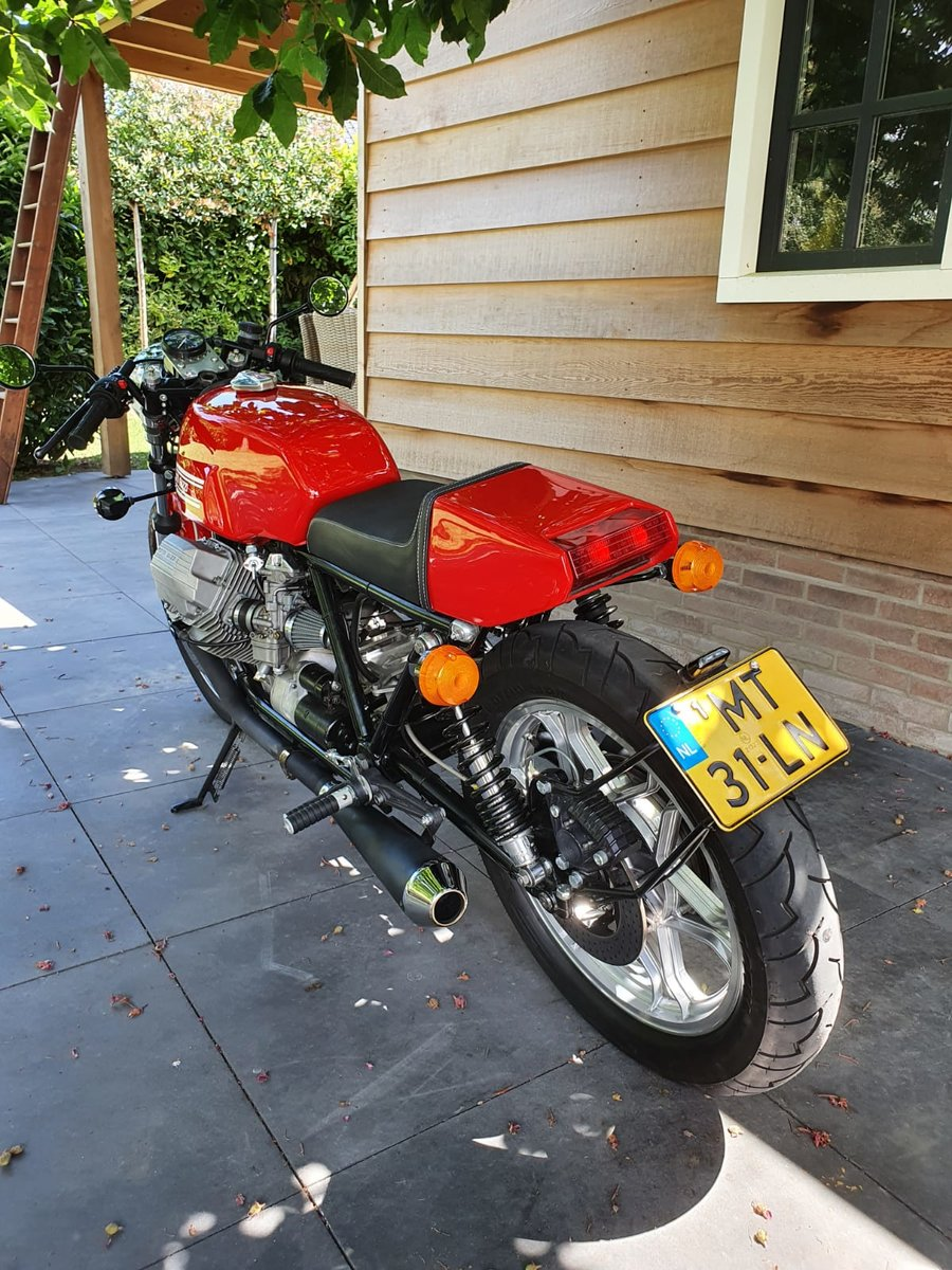 1985 Moto Guzzi Le Mans Cafe racer For Sale (picture 3 of 6)