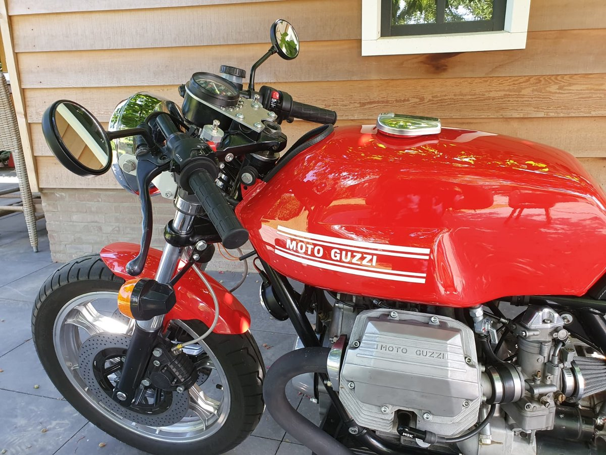 1985 Moto Guzzi Le Mans Cafe racer For Sale (picture 6 of 6)