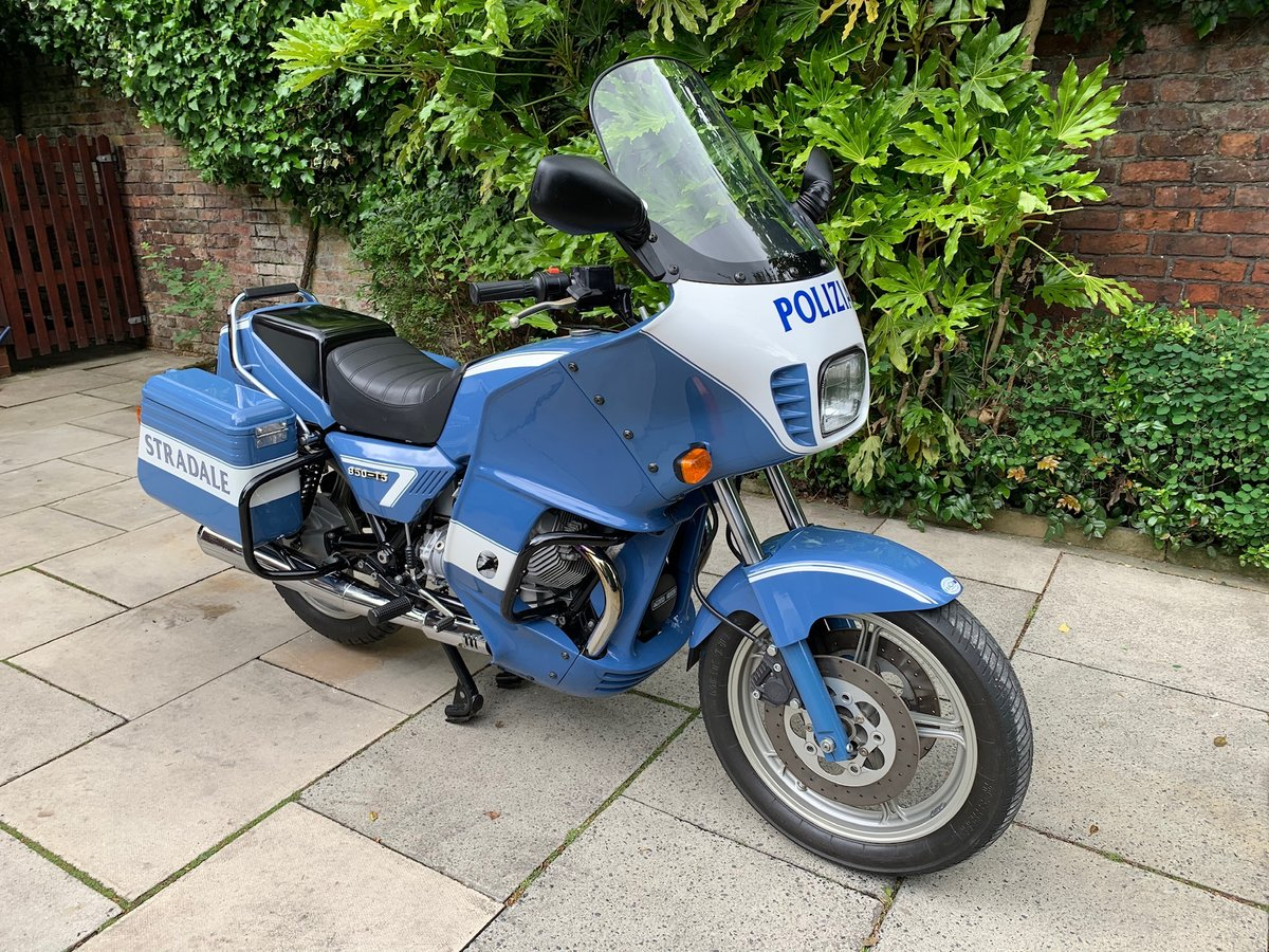1999 Moto Guzzi 850 T5 PA, Ex Italian Police, Fully Restored For Sale (picture 1 of 6)