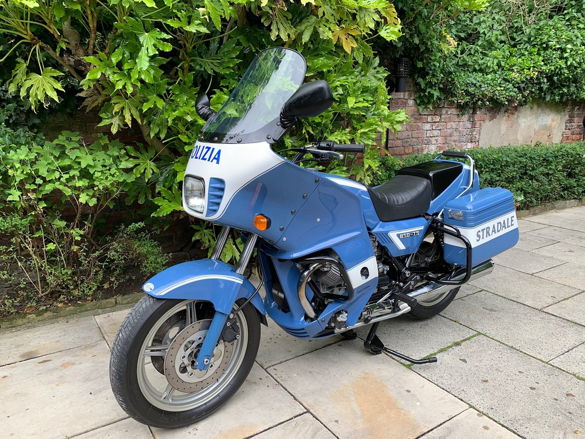 1999 Moto Guzzi 850 T5 PA, Ex Italian Police, Fully Restored For Sale (picture 3 of 6)