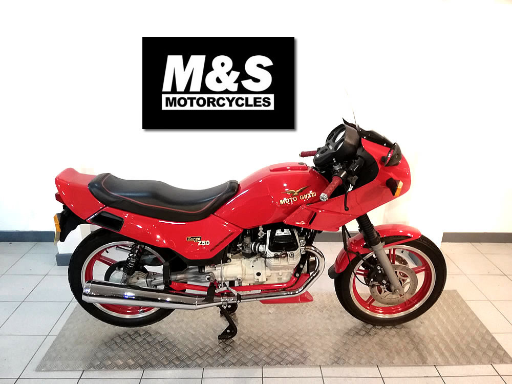 1993 Moto Guzzi Targa 750 For Sale (picture 1 of 6)