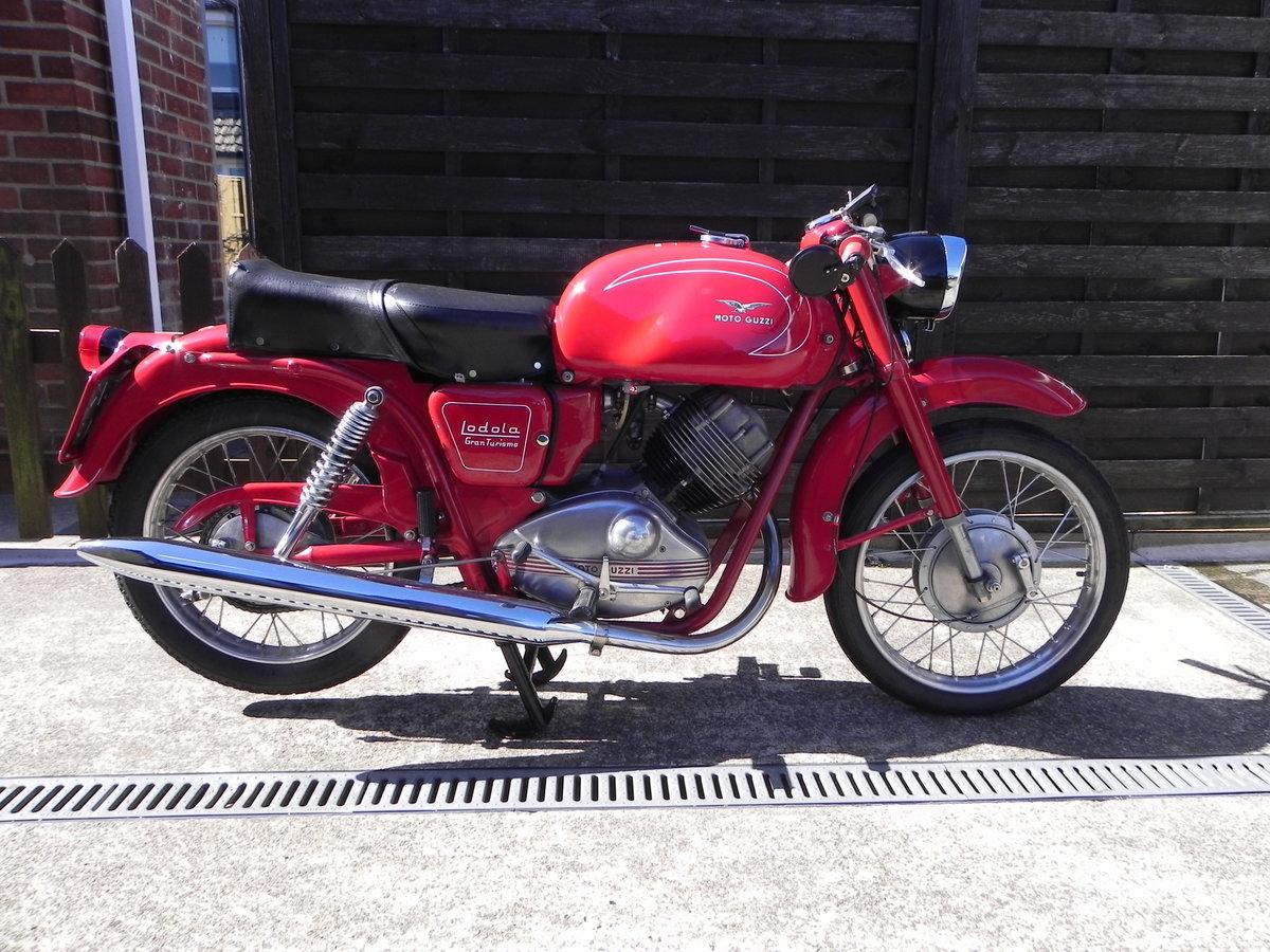 1962 Moto Guzzi Lodola 235cc  SOLD (picture 1 of 6)