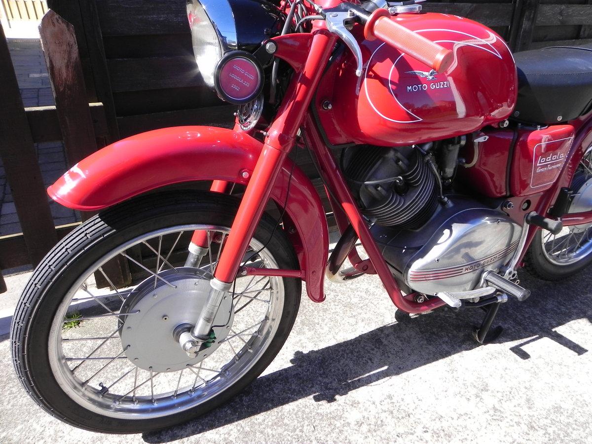 1962 Moto Guzzi Lodola 235cc  SOLD (picture 5 of 6)