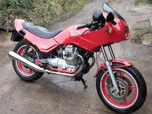 Moto Guzzi Targa 750cc. Mot, just serviced