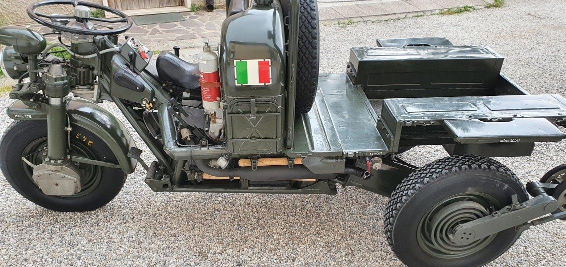1960 Moto Guzzi 3X3 Mulo Meccanico For Sale (picture 5 of 6)