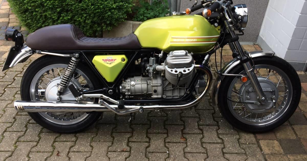1972 Moto Guzzi V 7 Sport For Sale (picture 1 of 5)