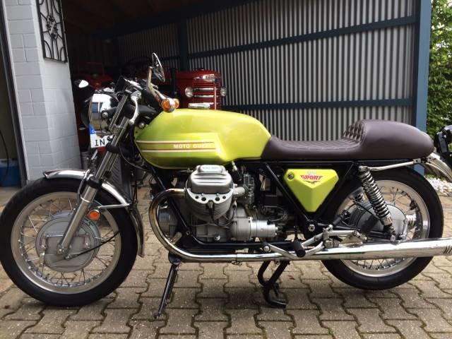 1972 Moto Guzzi V 7 Sport For Sale (picture 2 of 5)