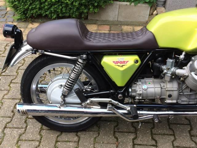 1972 Moto Guzzi V 7 Sport For Sale (picture 3 of 5)