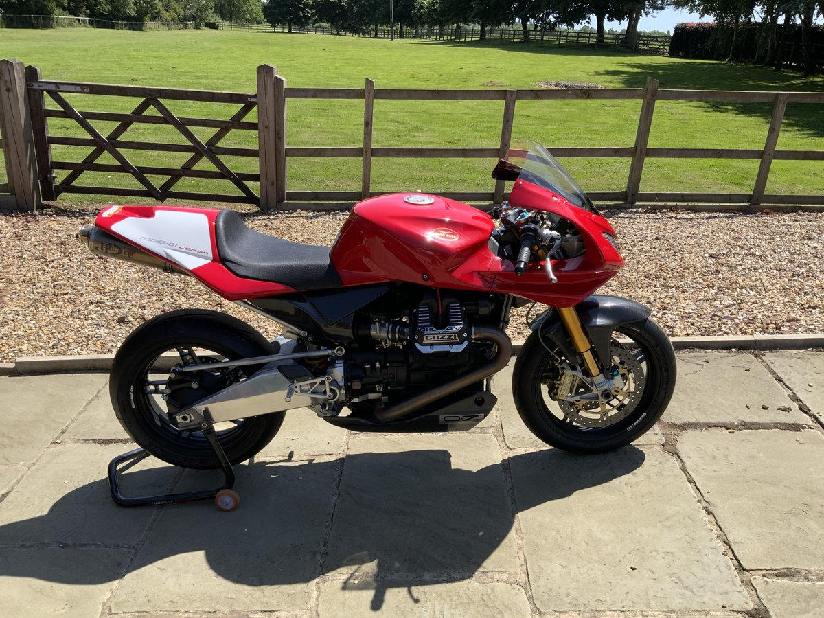 2008 Moto Guzzi MGS01 Corsa One of 50 only 950kms For Sale (picture 1 of 6)