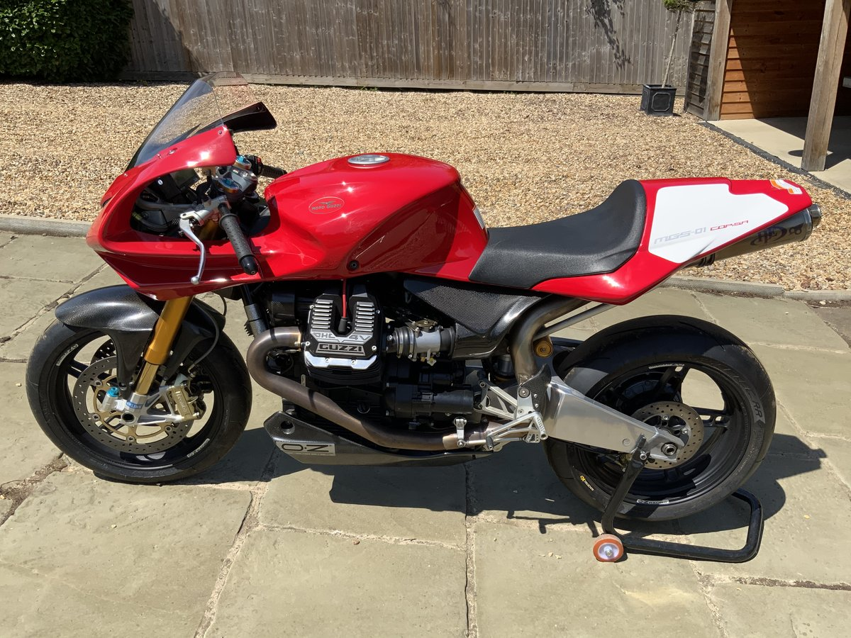 2008 Moto Guzzi MGS01 Corsa One of 50 only 950kms For Sale (picture 2 of 6)