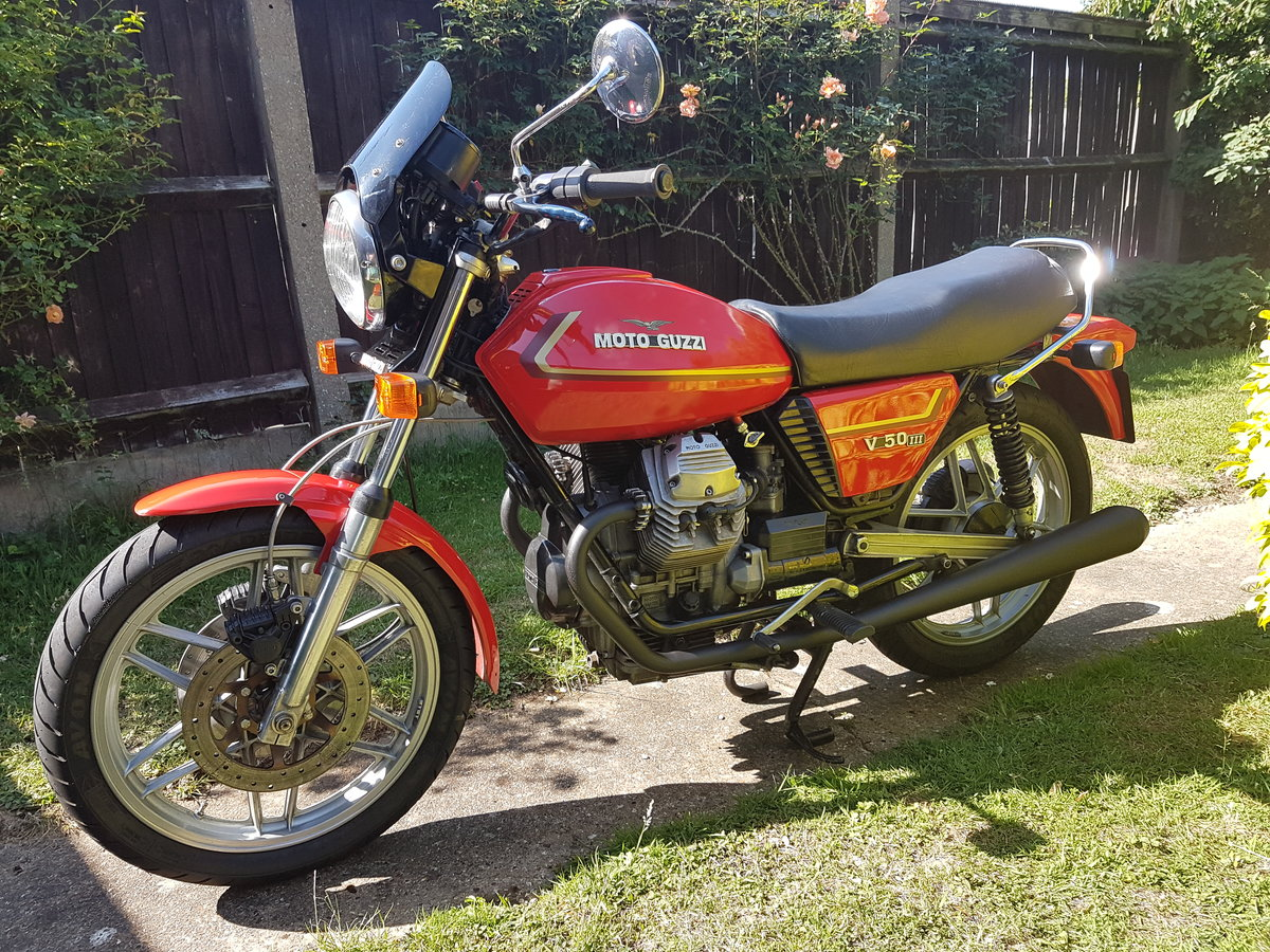 1981 Moto Guzzi V50 SOLD (picture 1 of 5)