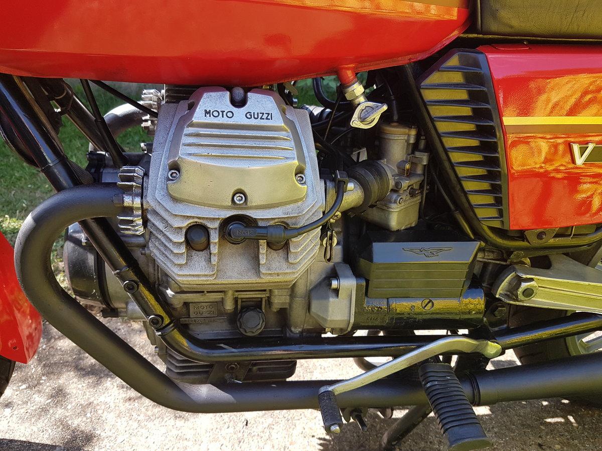 1981 Moto Guzzi V50 SOLD (picture 4 of 5)
