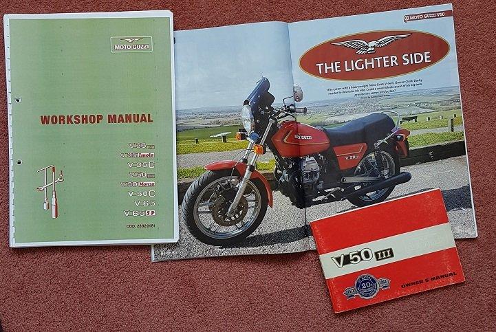 1981 Moto Guzzi V50 SOLD (picture 5 of 5)