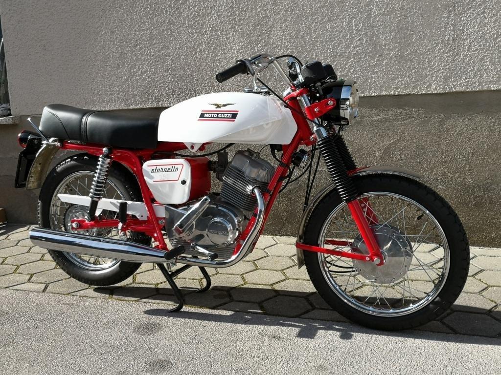 1971 MOTO GUZZI STORNELLO 160 5M CONCOURSE For Sale (picture 2 of 6)