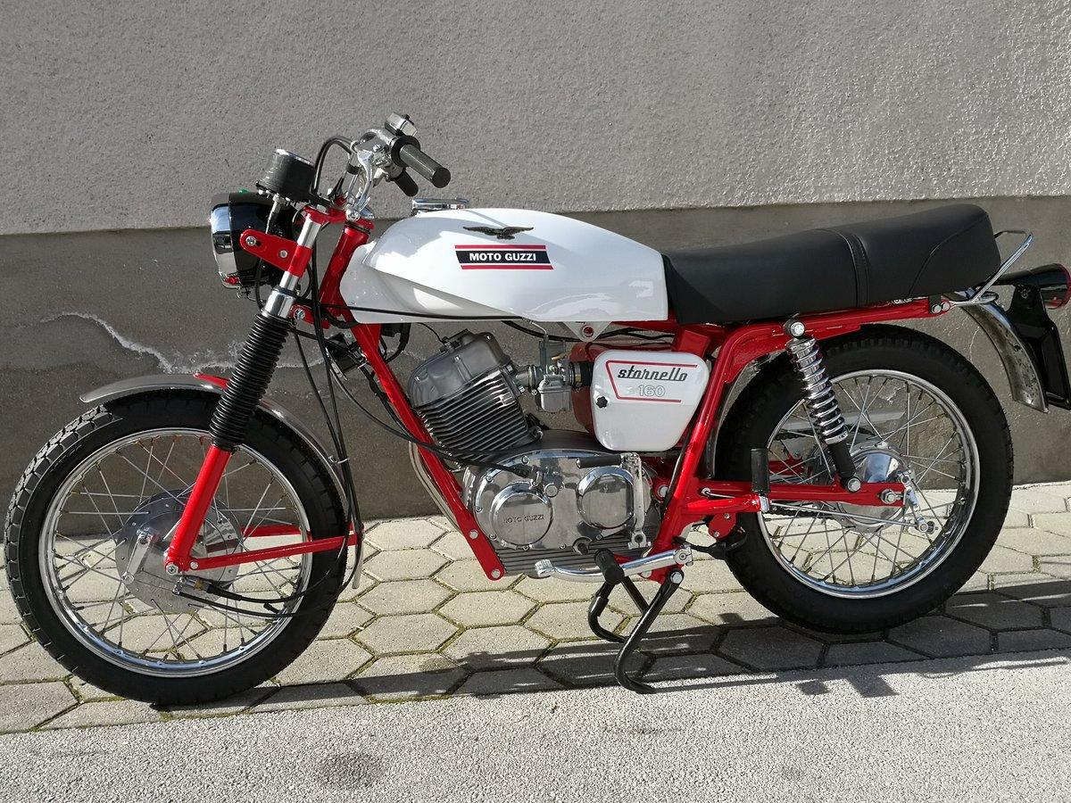 1971 MOTO GUZZI STORNELLO 160 5M CONCOURSE For Sale (picture 3 of 6)