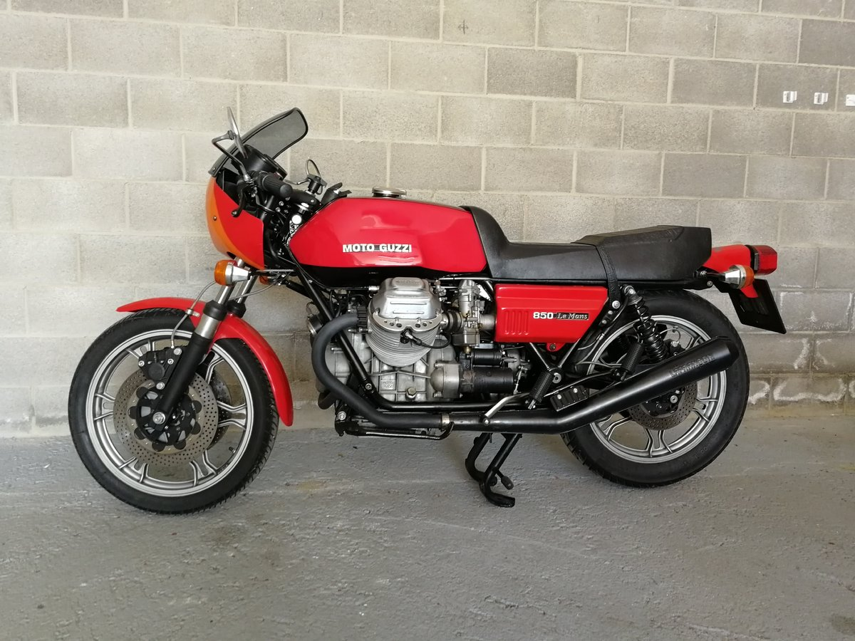 1978 Moto Guzzi Le Mans First Series For Sale (picture 1 of 6)