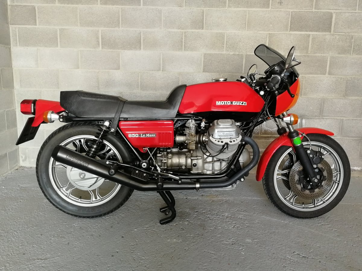 1978 Moto Guzzi Le Mans First Series For Sale (picture 2 of 6)