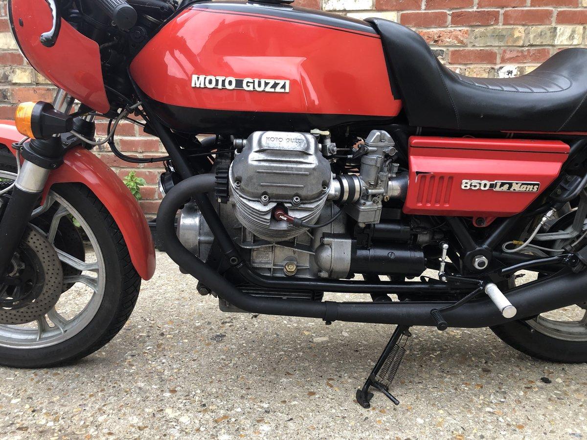1977 Moto guzzi le mans mk1 For Sale (picture 3 of 6)