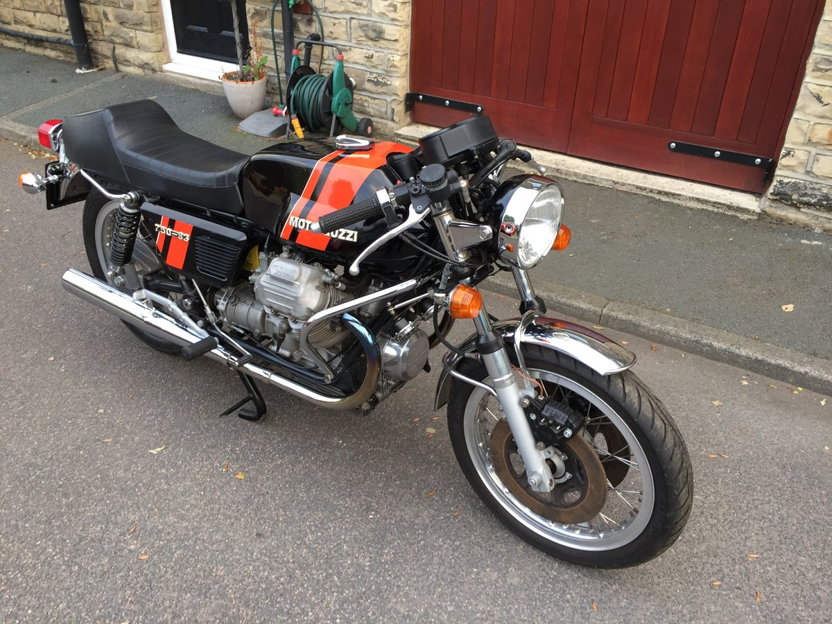 1975 Moto Guzzi 750S3 - First day production For Sale (picture 2 of 6)