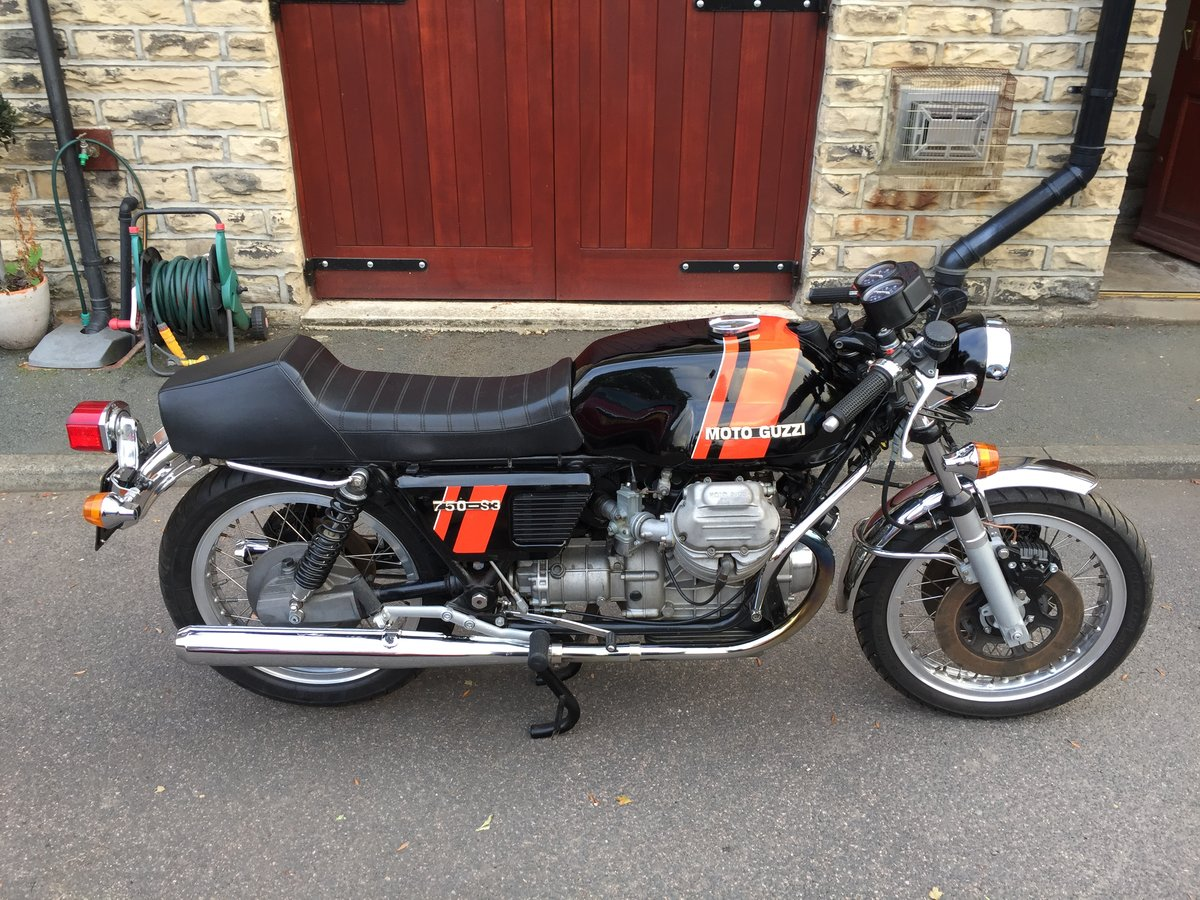 1975 Moto Guzzi 750S3 - First day production For Sale (picture 5 of 6)