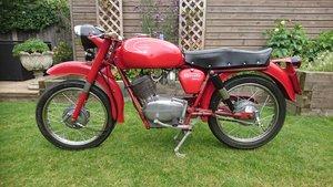 Moto Guzzi 125cc Stornello 1961 Vintage Classic