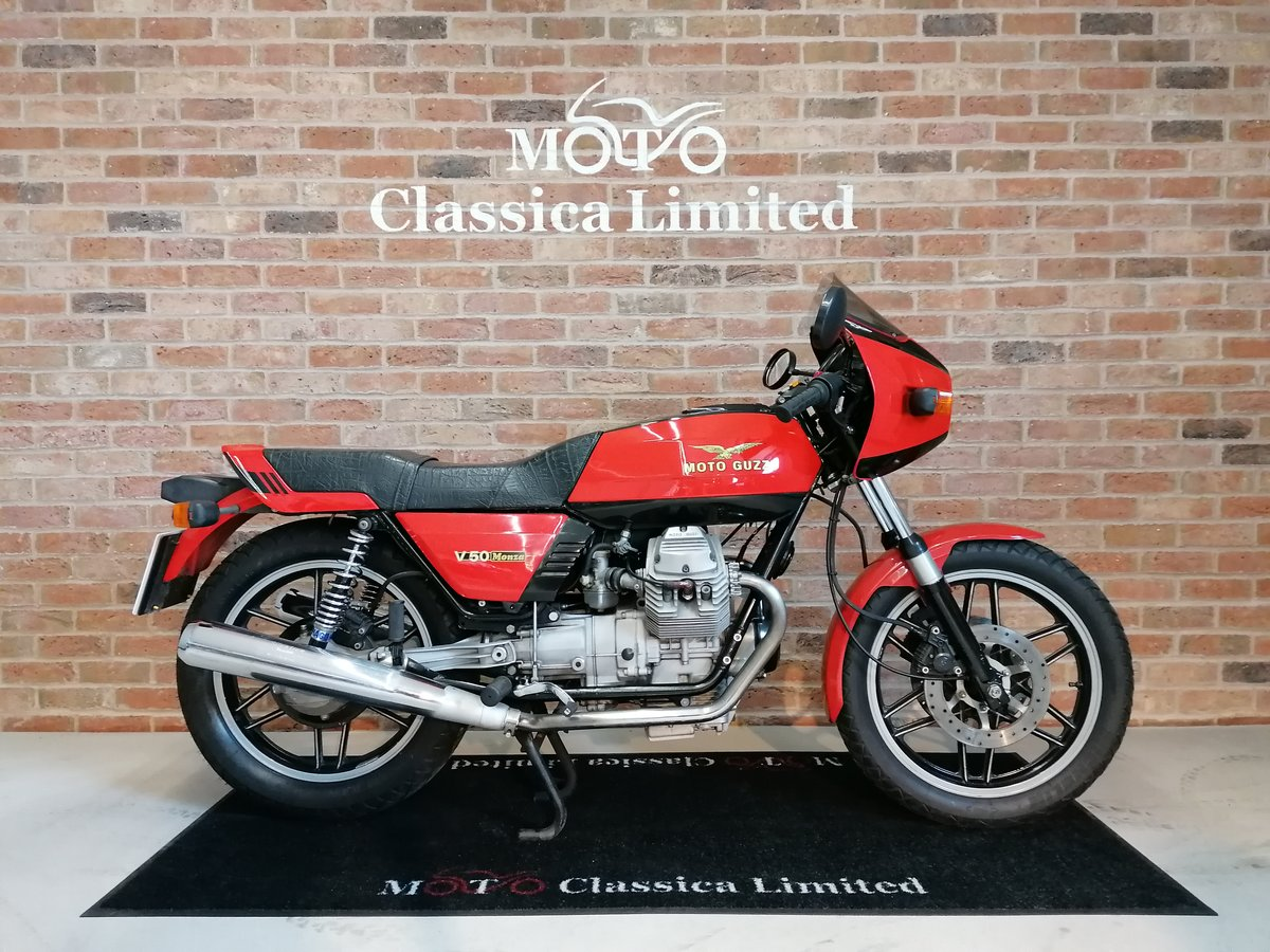 1981 Moto Guzzi V50 Monza UK Bike  For Sale (picture 1 of 6)