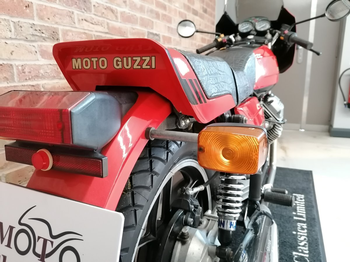 1981 Moto Guzzi V50 Monza UK Bike  For Sale (picture 4 of 6)