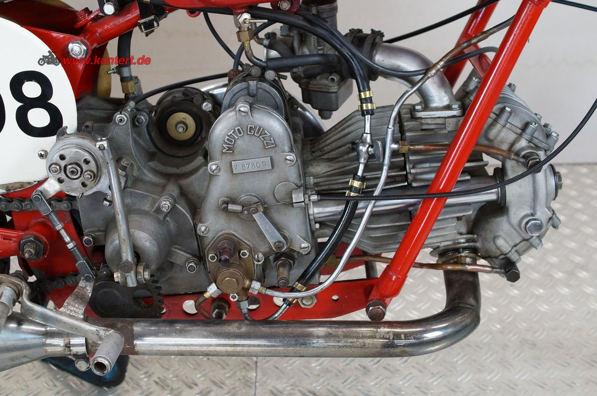 1946 Race Bike, Moto Guzzi GTV 500 Corsa, 499 cc, 13 hp For Sale (picture 4 of 6)