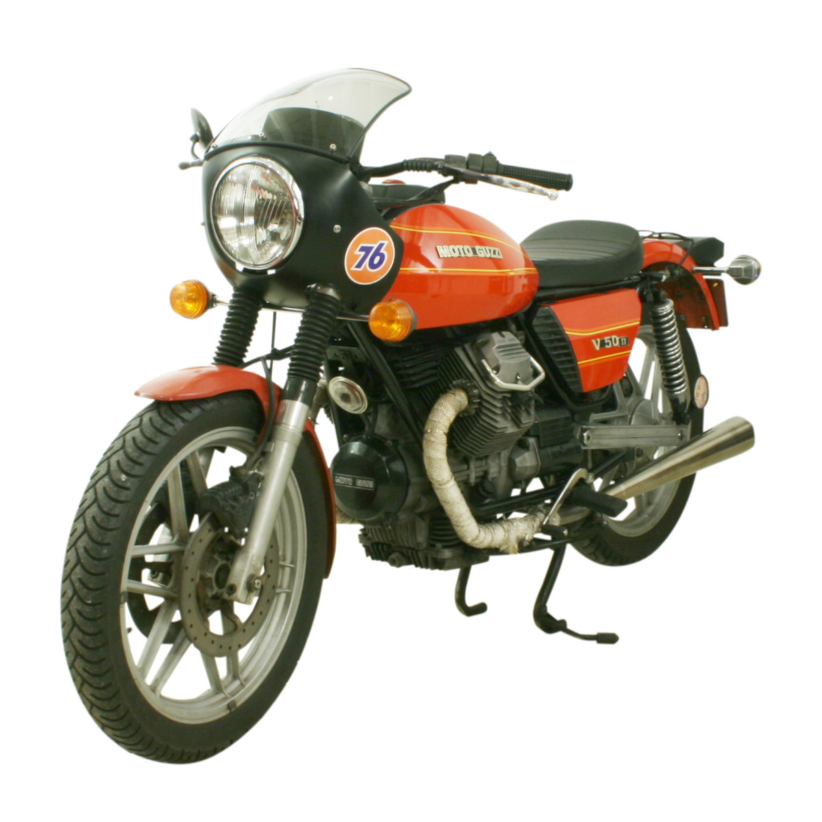 1981 Moto Guzzi V50 II 500cc Italian Motorcycle For Sale (picture 1 of 6)