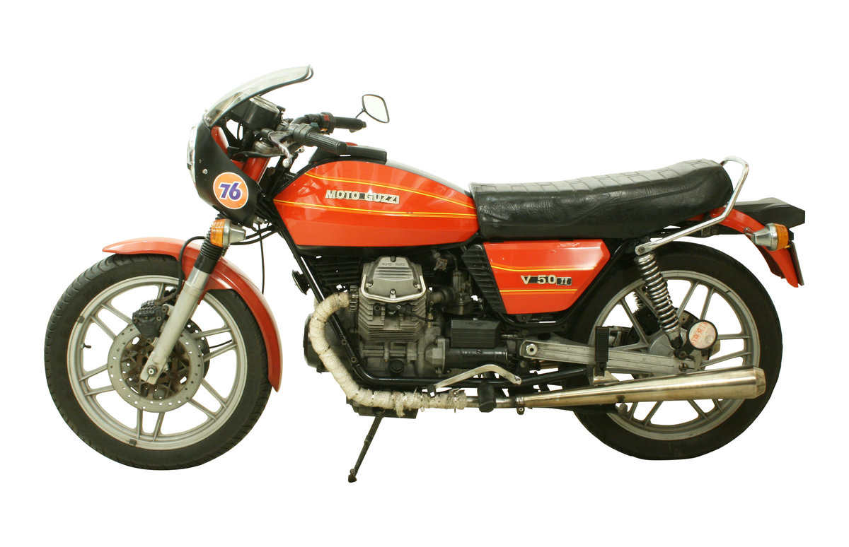 1981 Moto Guzzi V50 II 500cc Italian Motorcycle For Sale (picture 2 of 6)