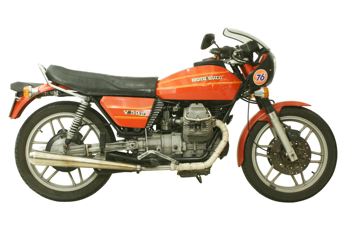 1981 Moto Guzzi V50 II 500cc Italian Motorcycle For Sale (picture 3 of 6)