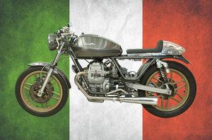 Moto Guzzi Cafe Racer V50 Italian Motorcycle