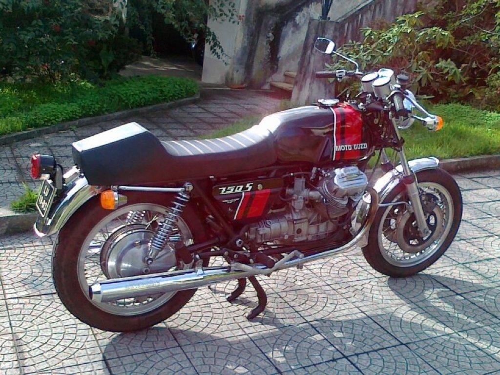 1974 Moto Guzzi 750 S For Sale (picture 1 of 6)