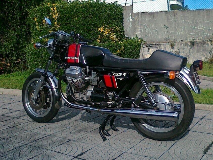 1974 Moto Guzzi 750 S For Sale (picture 4 of 6)