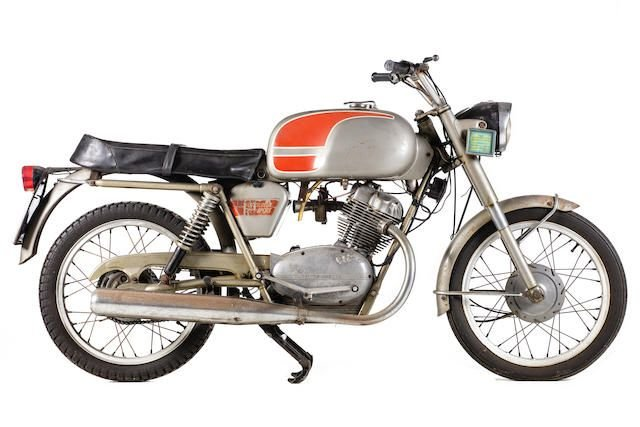 1967 MOTO GUZZI 125 STORNELLO SPORT (LOT 536) SOLD by Auction (picture 1 of 1)